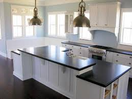 pictures of kitchens with white cabinets and black countertops charming kitchen yellow wall color 2018