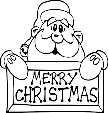 Small Picture This Santa Claus Merry Christmas Colouring Pages Kids is aimed at
