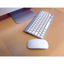 floortex desktex polycarbonate rectangular anti slip desk protector 2 x27 11 x