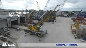 Grove Rt890e Grove Rt890e Crane Chart And Specifications