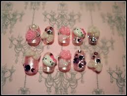 Japanese 3D Nail Art - Hello Kitty. $25.00, via Etsy. | Nails ...