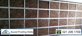 quality soundproofing of walls by k2d