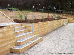 Small Picture Timber Retaining Wall Design Design Ideas