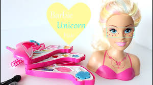 pretty doll heel makeup set toy is it worth it barbie unicorn hair style and make up