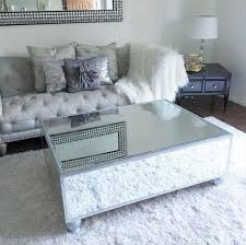 mirror tables best 25 mirrored coffee ideas on glam with regard to square table remodel