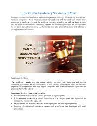 We can give you information. Insolvency Service Help You By Resurgent India Issuu
