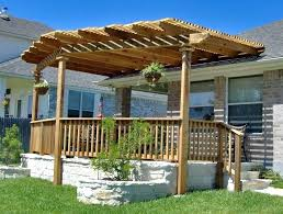 attached covered patio ideas. Decks With Pergolas Shade Deck Pergola Plans Porch Alpine Landscaping  Design Patio Ideas Attached Covered Screens