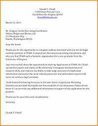 Internship Thank You Letter Best Resumes