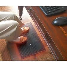 cozy products electric foot warmer mat keep feet warm cold floors office space heater