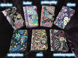 Vera Bradley Discontinued Patterns Amazing Handmade Turnlock Wallet Multi Retired Patterns Vera Bradley Etsy