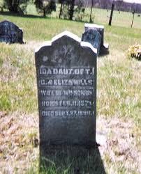 Ida Mills Morris (1871-1899) - Find A Grave Memorial