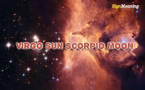 Sun And Moon Compatibility Chart Virgo Sun Scorpio Moon Personality Compatibility Sign