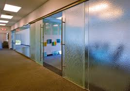 this is an image of dorma interior glass wall systems