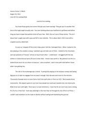 english honors com aurora high school aurora page  2 pages experience essay travel to