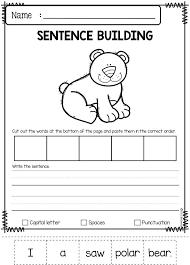December Sentence Building | Kindergarten worksheets, Thinking ...