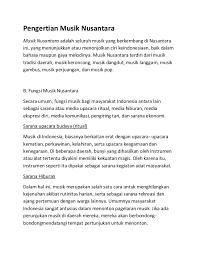 (f) sarana ekonomi (tim kemdikbud, 2017, hlm. Musik Nusantara