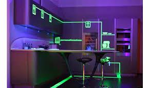 kitchen led lighting. Amazing Modern Industrial Kitchens Design With Led Lighting Idea Under Cabinet Kitchen P