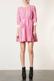Pink Striped Shirt Dress Topshop Kamos T Shirt Pink Striped Shirt Dress Topshop