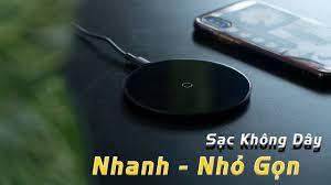 Đế Sạc Nhanh KHÔNG DÂY Baseus Simple Wireless 10W NGON và RẺ!!! - YouTube