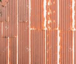 rusted corrugated metal roofing 14 with rusted corrugated metal roofing