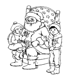 Small Picture Free Printable Christmas Coloring Pages Online With esonme