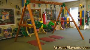 gorilla playsets free standing swing set review from arizona playsets