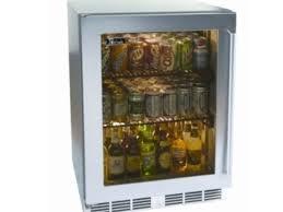 perlick 24 ss outdoor fully integrated glass door refrigerator