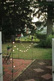 lighting tiki torches. Tiki Torches And Solar Lights Border Patio Area. Simple Cheap! Lighting
