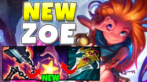 New Zoe Gameplay - League of Legends ...