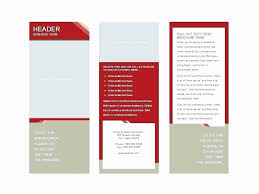 Brochure Template For Word 2007 Word Tri Fold Templates Capriartfilmfestival