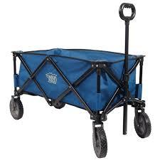 folding garden cart. TimberRidge Folding Camping Shopping Wagon, Garden Cart, Collapsible, Blue Cart G