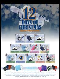 grizzlies unveil days of christmas at izzy s den team 12 days of christmas package list