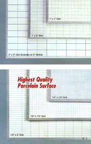 Magna Visual Chart Tape Magnetic Grided Dry Erase Boards From 18x24 To 60x144
