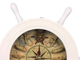 ship wheel wall clock wooden ship wheel clock designs large ship wheel wall clock