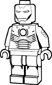Small Picture Lego Iron Man Coloring Page Wecoloringpage