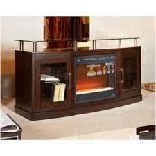 W757 48 Ashley Furniture Medium Tv Stand fireplace Opt