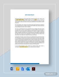 anti spam policy template free pdf