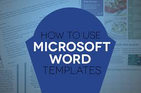 word microsoft templates how to use document templates in microsoft word digital trends