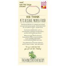 Revel  Organic Grain  Chicken Dog Food - Honest kitchen dog food