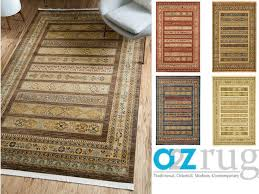 details about oriental modern area rug soft round carpet tribal contemporary large runner rugs