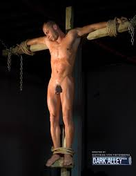Nude gay male crucified fetish