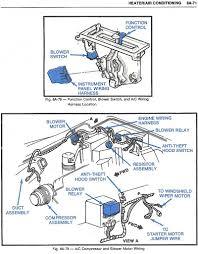1980 c3 blower motor wont shut off hot rod forum hotrodders heater ac