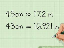 How To Convert Millimeters To Inches 9 Steps With Pictures