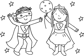 Small Picture Beautiful Coloring Pages Girl Superheroes Pictures Printable