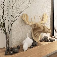 nordic home decorations wall deer canada finland iceland moose