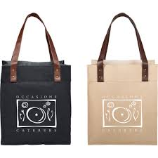 large jute tote bag with leather handles