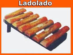 Jenis alat musik tersebut adalah jenis alat musik yang memiliki bunyi ideofon (bunyi yang dihasilkan dari bunyi dasarnya). Alat Musik Tradisional Ladolado
