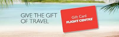 flight centre gift cards