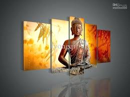 hands of buddha wall hooks the modern wall art home abstract decorative flower figure oil paintings
