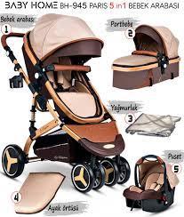 Baby Home Bh-945 Paris Amortisörlü Travel Sistem Bebek Arabası - Ayhan  Çocuk   Anne ve Bebek Ürünleri Mağazası - Kampanyalar